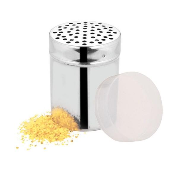 QUEIJEIRA INOX COM TAMPA PLASTICA