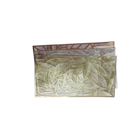 LUGAR AMERICANO 30X45CM ROSE/GOLD/OURO