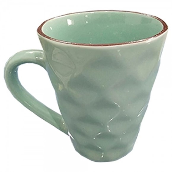 CANECA CERAMICA DIAMANTE 270ML